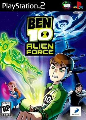 Ben 10: Alien Force Cover Art