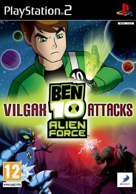 Ben 10: Alien Force: Vilgax Attacks Cover Art