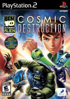 Ben 10: Ultimate Alien Cosmic Destruction Cover Art