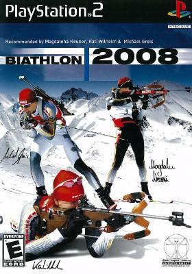 Biathlon 2008 Cover Art