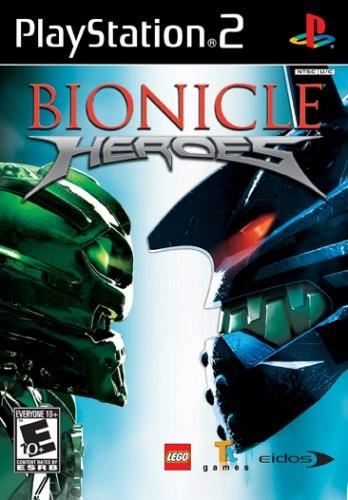 Bionicle Heroes Cover Art