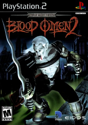Blood Omen 2: Legacy of Kain Cover Art