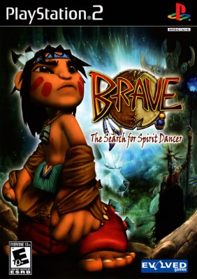 Brave The Search for Spirit Dancer Cover Art
