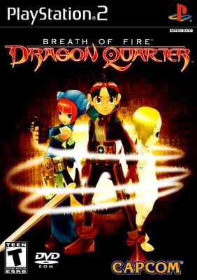 Breath of Fire Dragon Quarter Cover Art