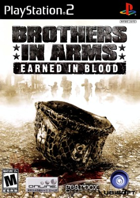 Brothers in Arms: Earned in Blood Cover Art