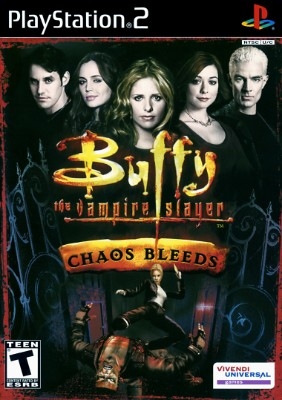 Buffy the Vampire Slayer Chaos Bleeds Cover Art
