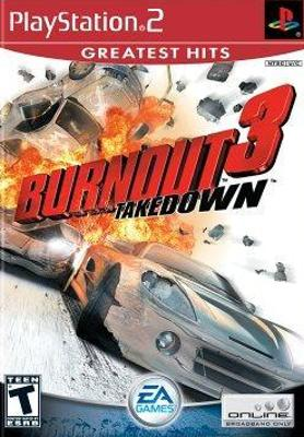 Burnout 3: Takedown [Greatest Hits] Cover Art