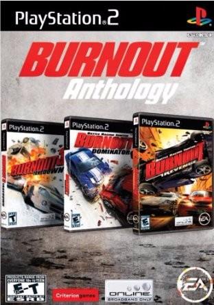 Burnout Anthology Cover Art