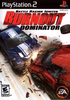 Burnout: Dominator Cover Art