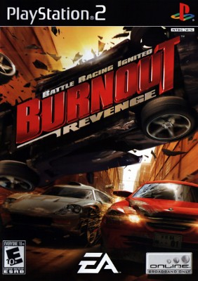 Burnout Revenge Cover Art