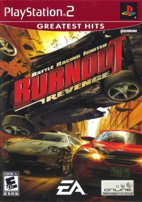 Burnout Revenge [Greatest Hits] Cover Art