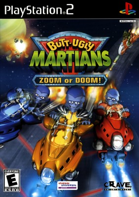 Butt Ugly Martians Zoom or Doom Cover Art