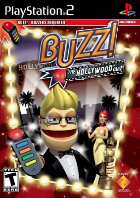 Buzz!: The Hollywood Quiz Cover Art