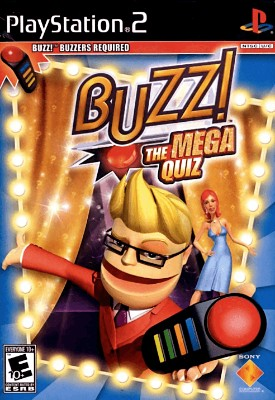 Buzz!: The Mega Quiz Cover Art