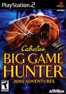 Cabela's Big Game Hunter 2005 Adventures Cover Art