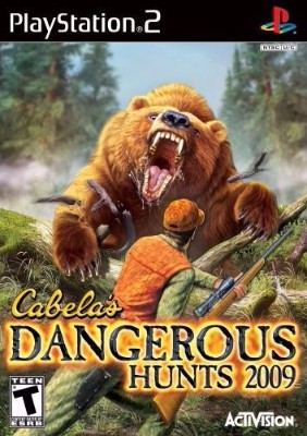 Cabela's Dangerous Hunts 2009 Cover Art
