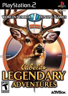 Cabela's Legendary Adventures Cover Art