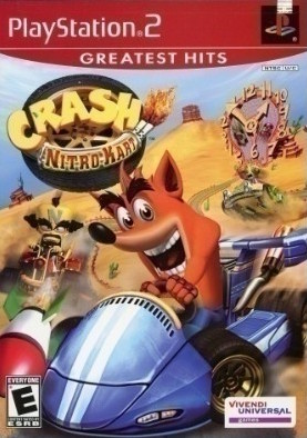 Crash Nitro Kart [Greatest Hits] Cover Art