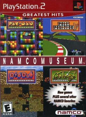 Namco Museum [Greatest Hits] Cover Art