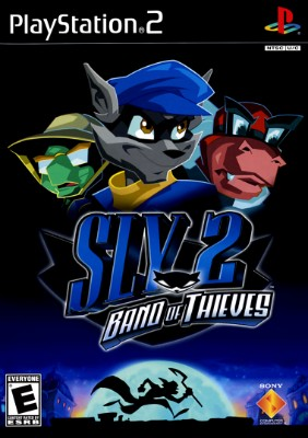 Sly 2: Band of Thieves Cover Art