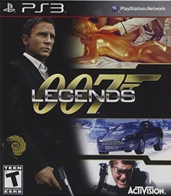 007 Legends Cover Art