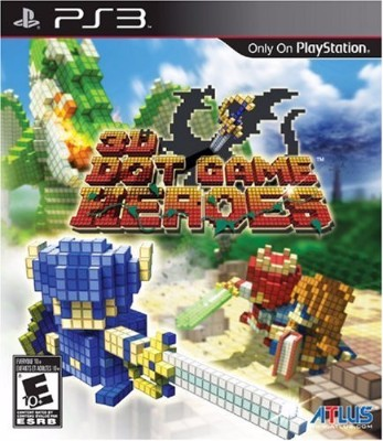 3D Dot Game Heroes Cover Art