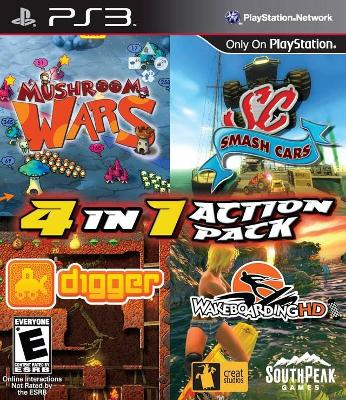4 In 1 Action Pack Cover Art