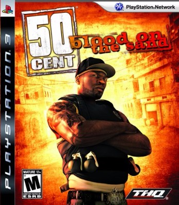 50 Cent: Blood on the Sand Cover Art