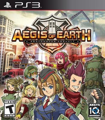 Aegis of Earth: Protonovus Assault Cover Art