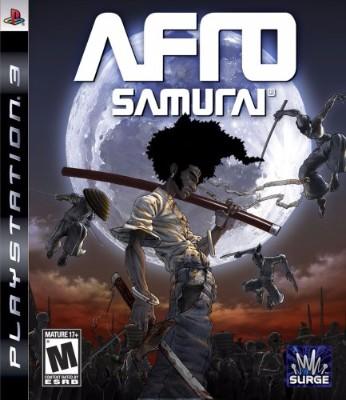 Afro Samurai Cover Art