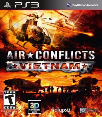 Air Conflicts: Vietnam Cover Art