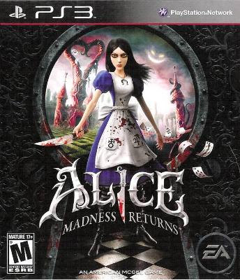 Alice: Madness Returns Cover Art