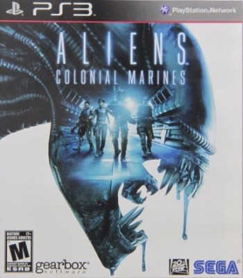 Aliens Colonial Marines Cover Art