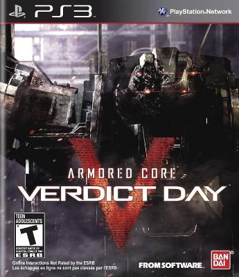 Armored Core: Verdict Day Cover Art