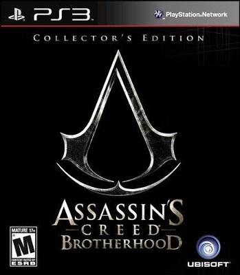 Assassin's Creed: Brotherhood [Collector's Edition] Cover Art