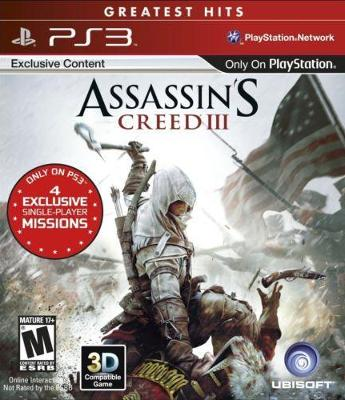 Assassin's Creed III [Greatest Hits] Cover Art
