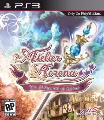 Atelier Rorona: The Alchemist of Arland Cover Art