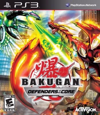 Bakugan: Defenders of the Core Cover Art