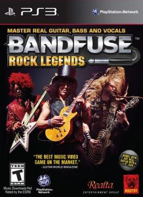 BandFuse: Rock Legends Cover Art