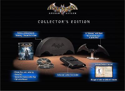 Batman: Arkham Asylum [Collector's Edition] Cover Art