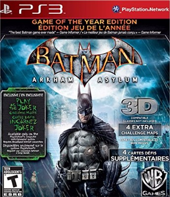 Batman: Arkham Asylum [Game of the Year Edition] Cover Art
