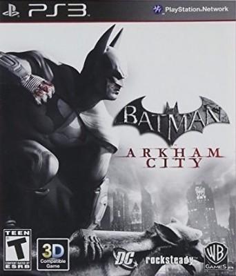 Batman: Arkham City Cover Art