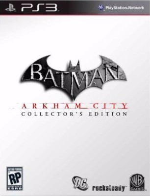 Batman: Arkham City [Collector's Edition] Cover Art