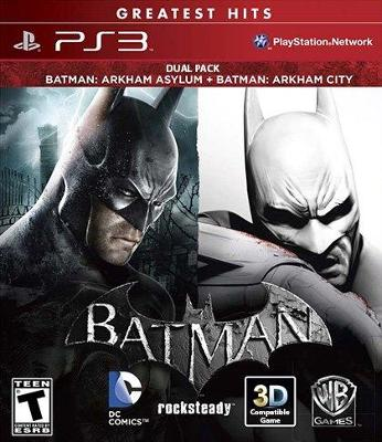 Batman: Arkham Dual Pack Cover Art