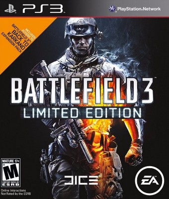 Battlefield 3 [Limited Edition] Cover Art