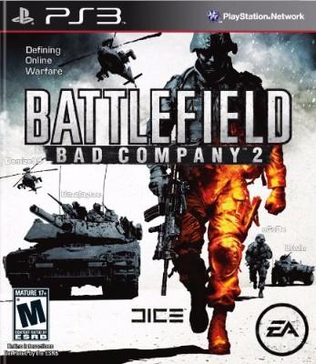 Battlefield: Bad Company 2 Cover Art