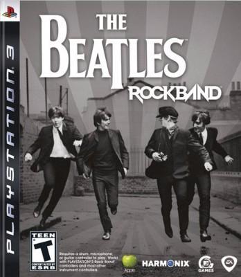 Beatles: Rock Band Cover Art