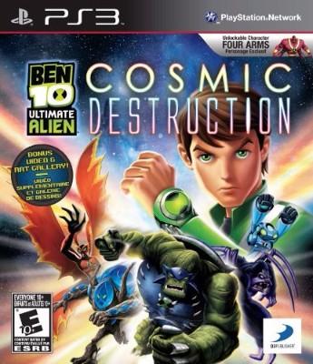 Ben 10: Ultimate Alien Cosmic Destruction Cover Art