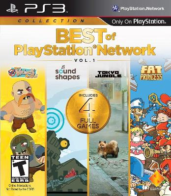 Best of PlayStation Network Vol. 1 Cover Art