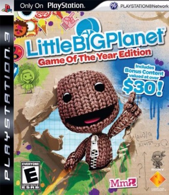 LittleBigPlanet: Game of the Year Edition Cover Art